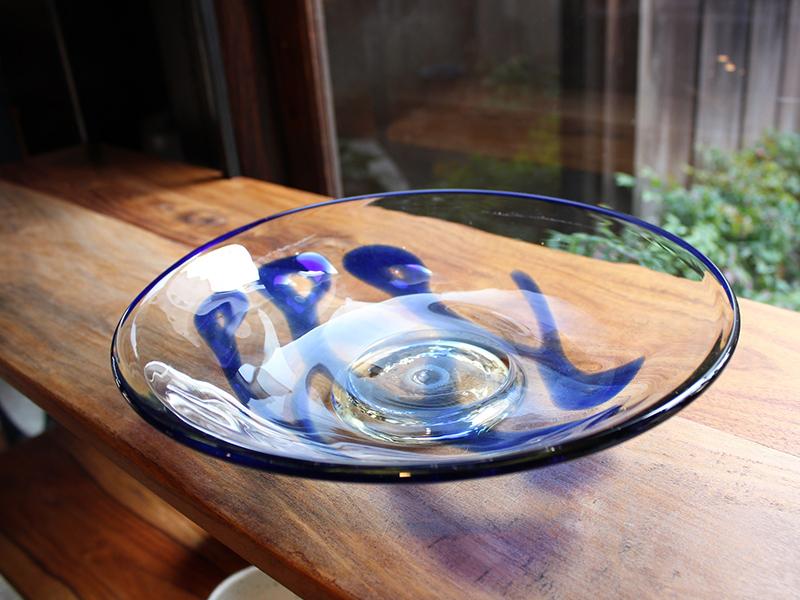 スリップウェア皿