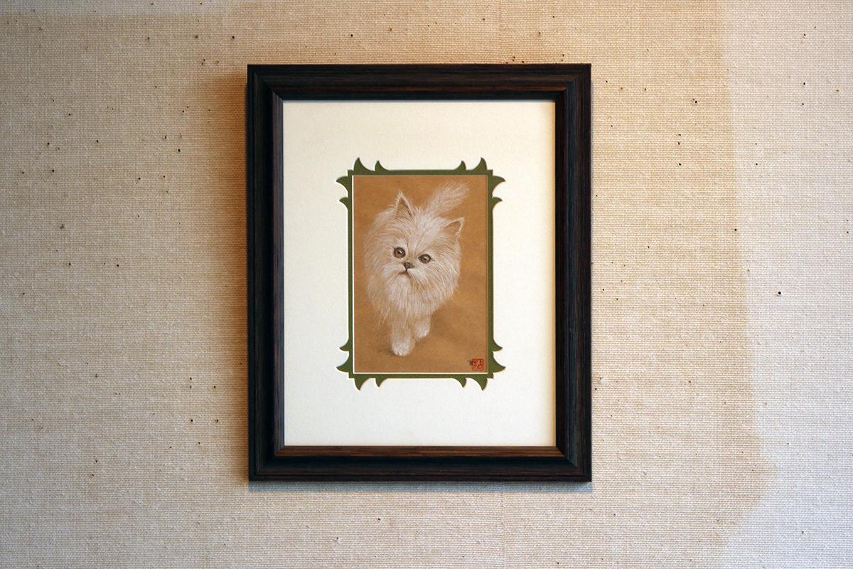 猫 デッサン No.13