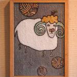 毛玉と羊(オス)