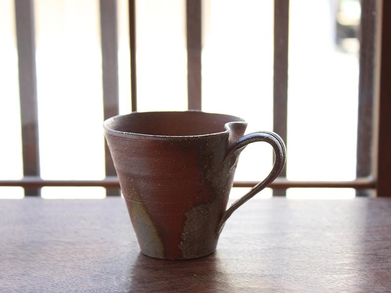 備前マグカップ 1