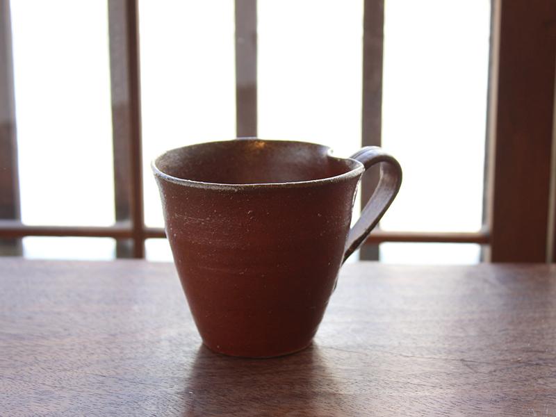 備前マグカップ 2