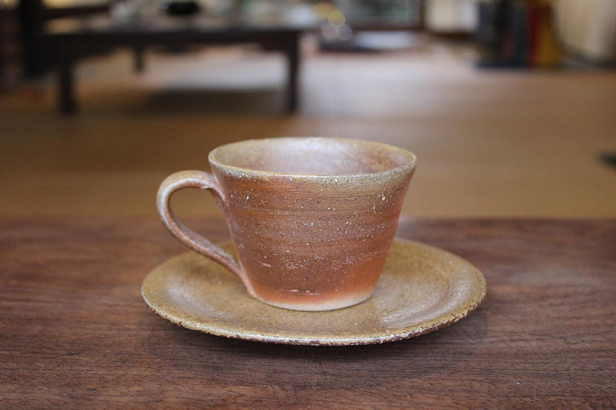 備前 コーヒー碗 A