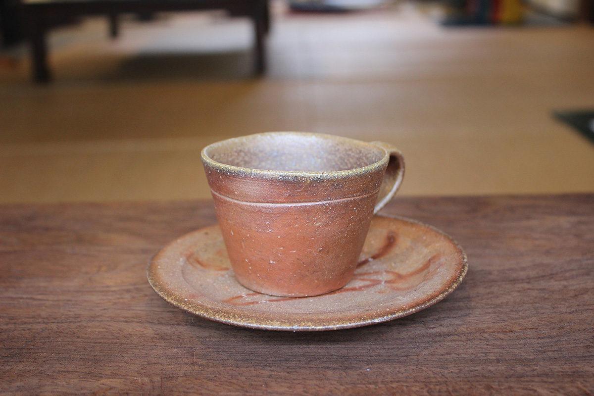 備前 コーヒー碗 B
