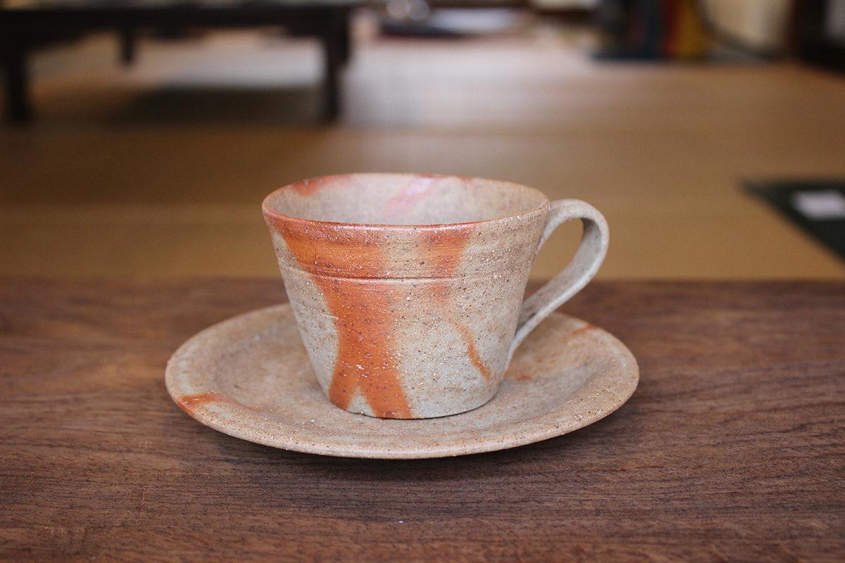 備前 コーヒー碗 C