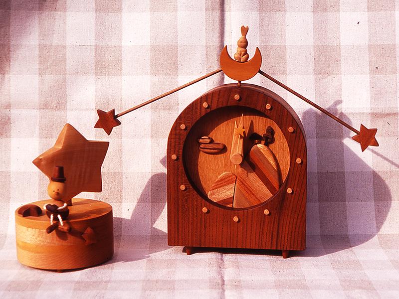 星に願いを・掛け時計