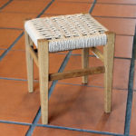 編み込みプチスツール