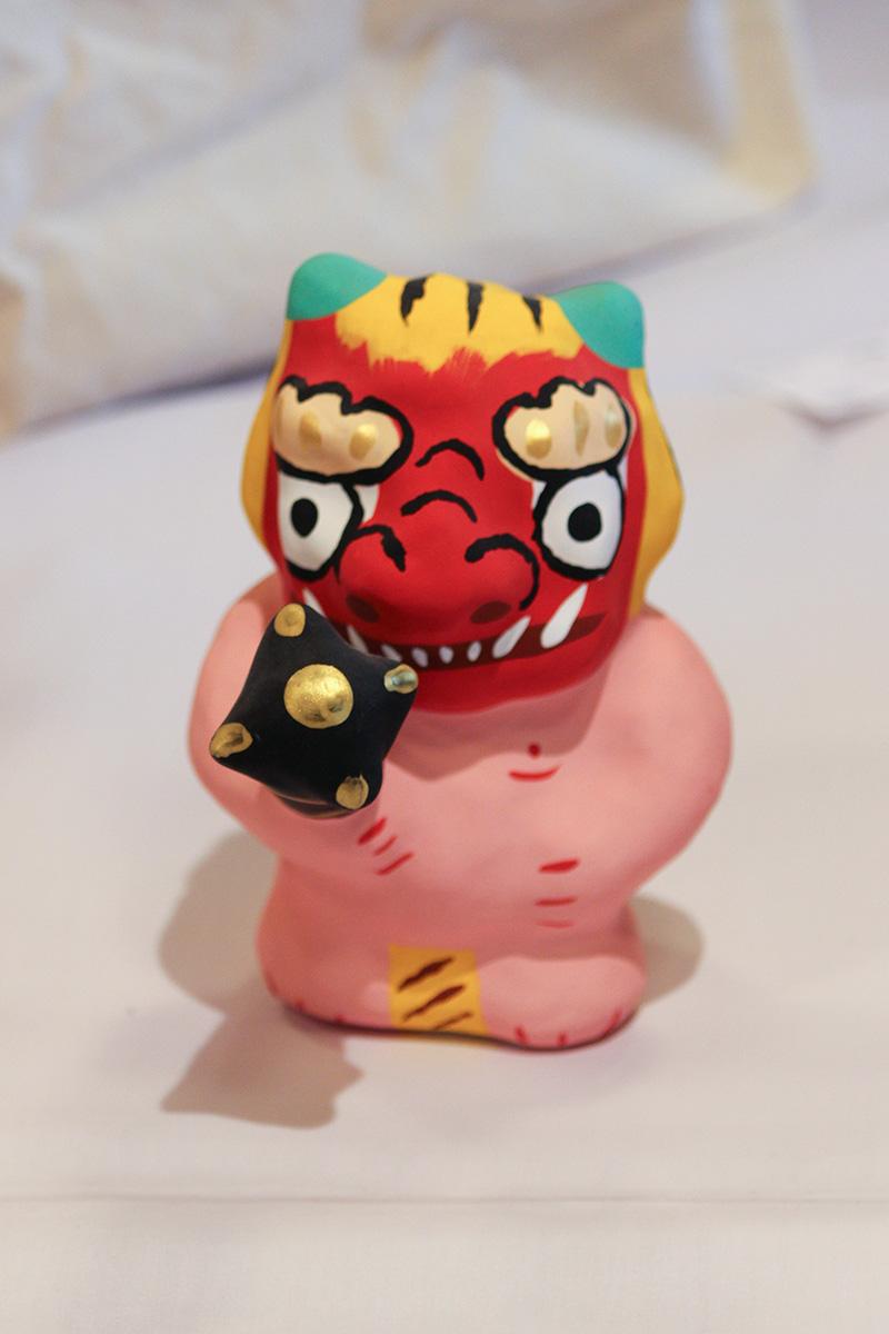 赤鬼(鬼に金棒)